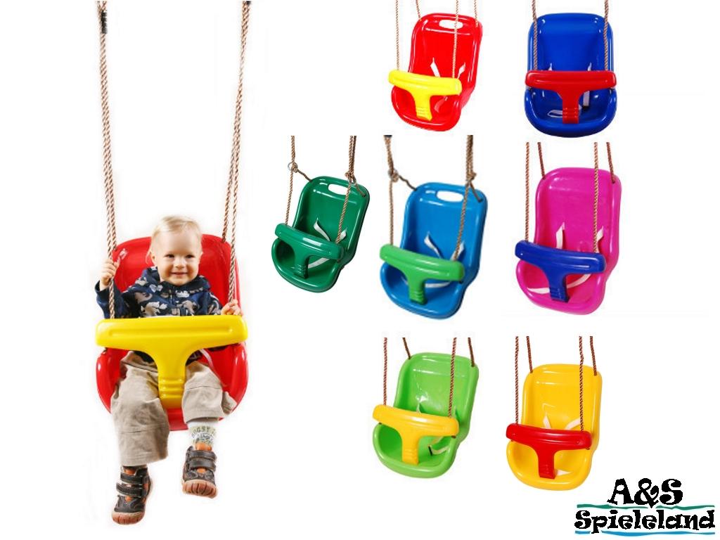 Babyschaukel 2 in 1 Kinderschaukel Schaukelsitz aus Kunststoff für ...