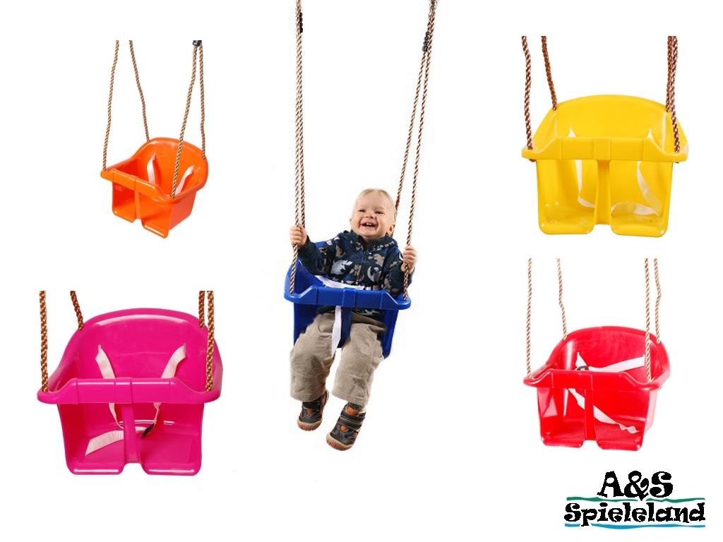 Babyschaukel Kinderschaukel Schaukelsitz aus Kunststoff für ...