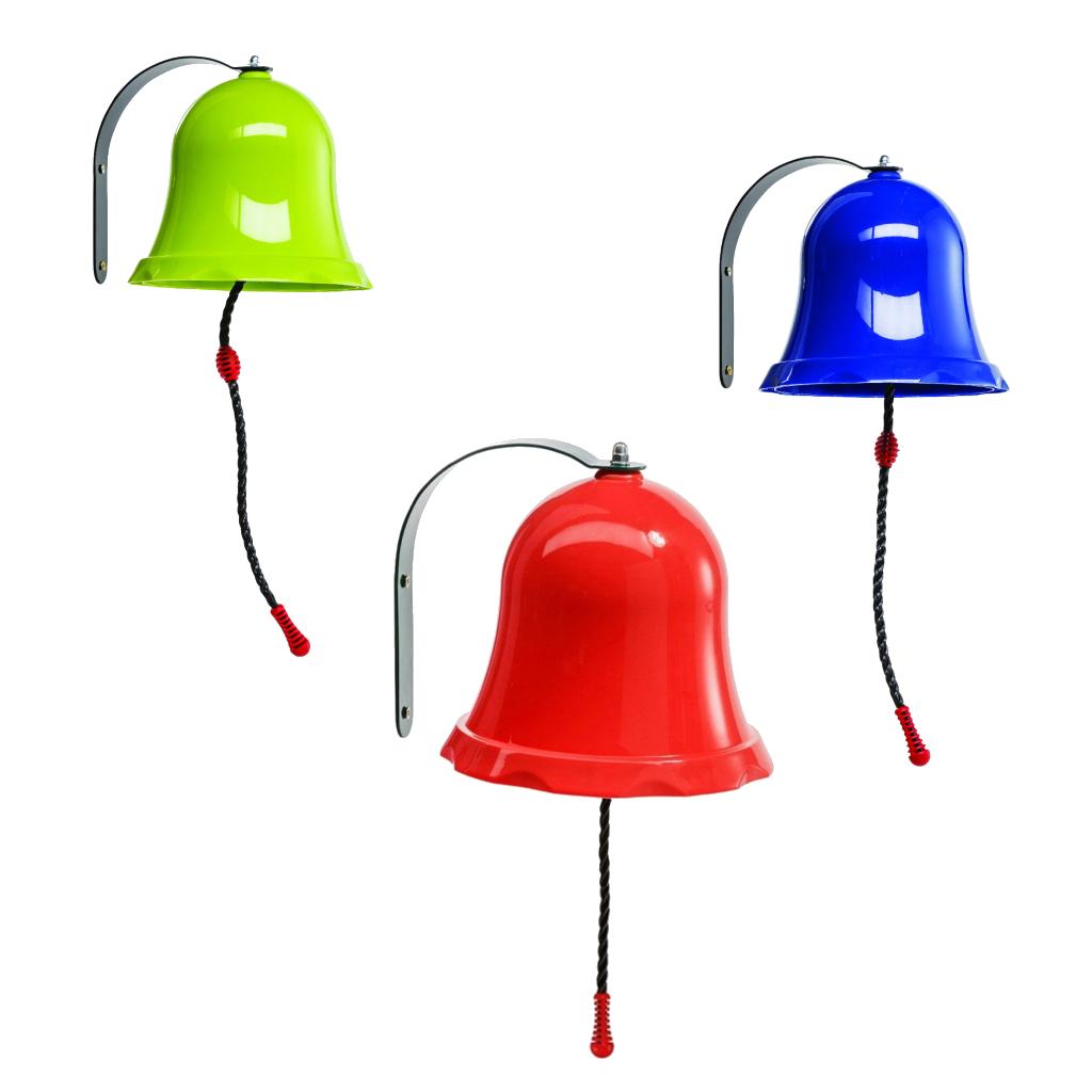 schiffsglocke glocke f r spielturm o spielhaus rot blau. Black Bedroom Furniture Sets. Home Design Ideas