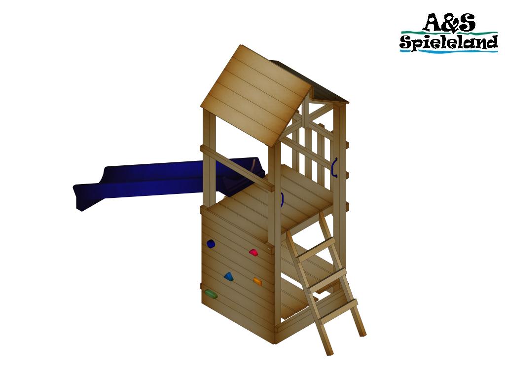 spielturm chris 2 0 rutsche 240 cm kletterturm sandkasten pfosten 9x9cm ebay. Black Bedroom Furniture Sets. Home Design Ideas